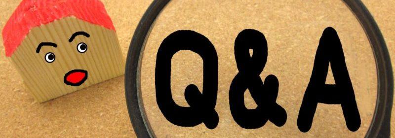 ホームページのQ&A